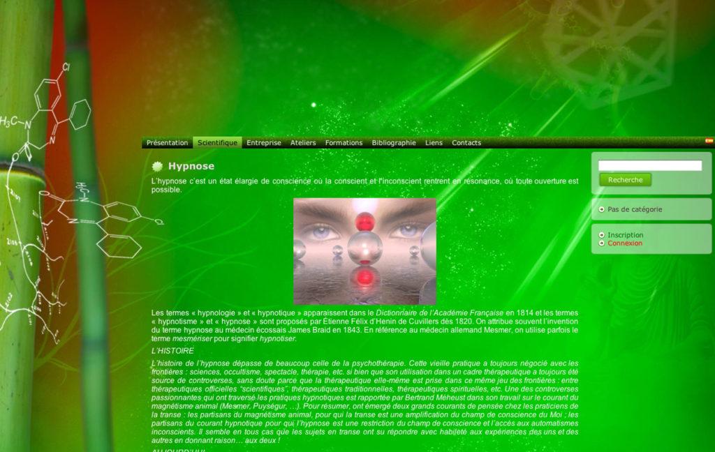 Site web energéticienne