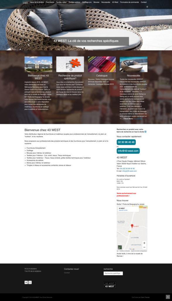 43 West 6 Site Web Homepage