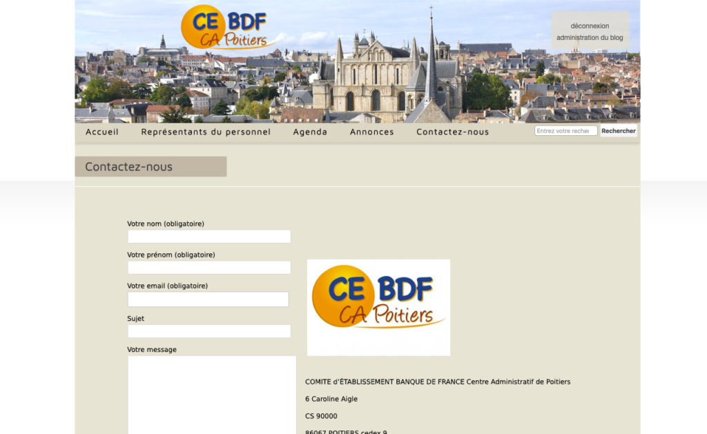 Ce Bdf 3 Site Prive Commite Dentreprise