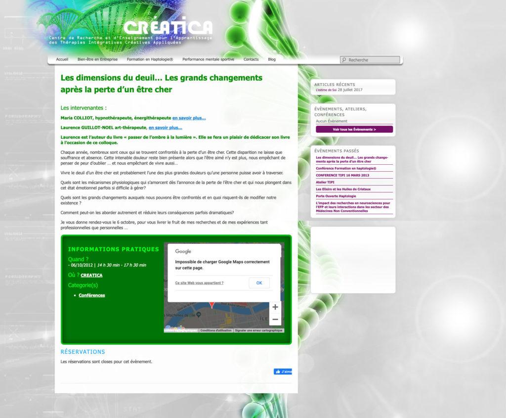 Ceatica 5 Personnalisation Theme WordPress