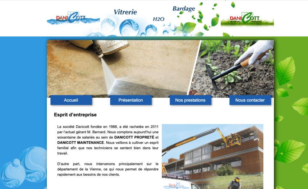 Danicott 2 Developpment Theme WordPress