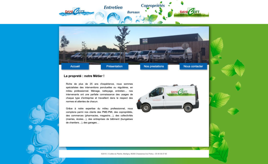 Danicott 7 Site Internet Pour Pme Tpe