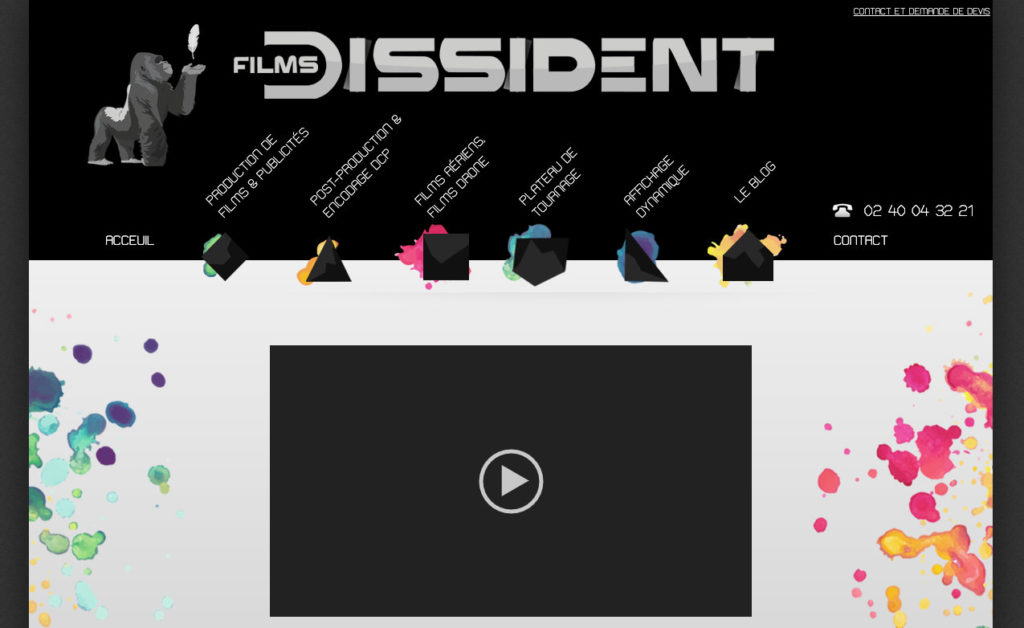 Les Films Dissident 2 Site WordPress Seo