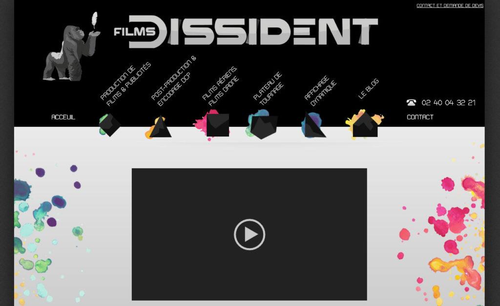 Les Films Dissident 5 Site Vitrine Wp