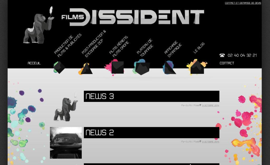 Les Films Dissident 6 Site Web Audiovisuel