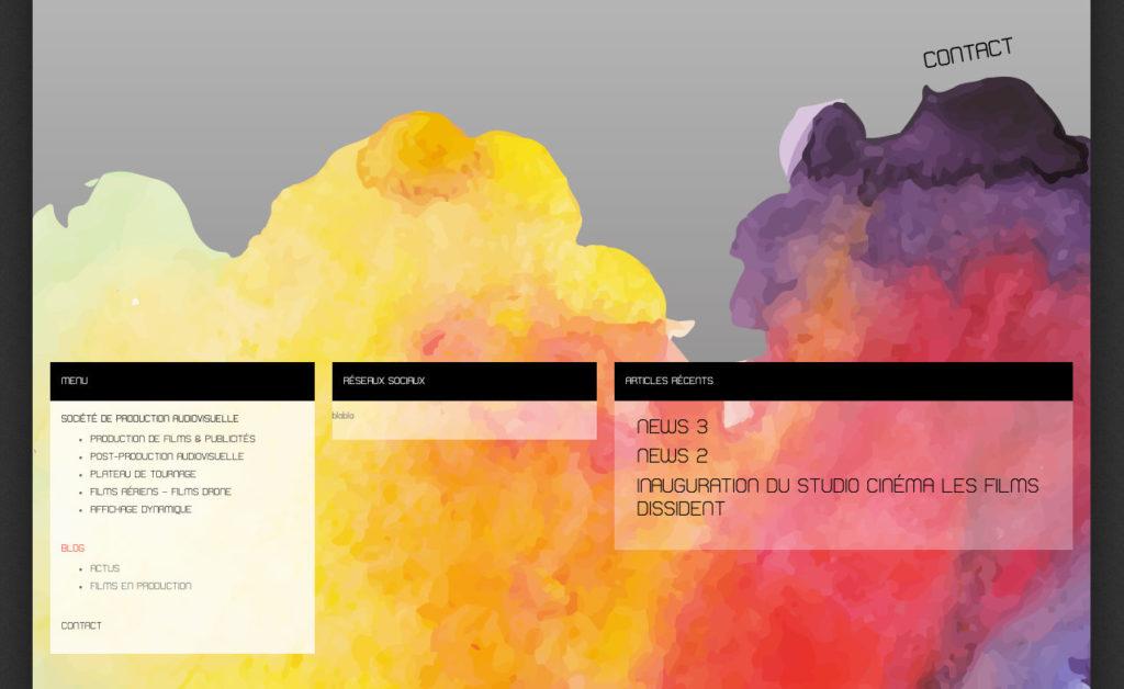 Les Films Dissident 7 Creation De Site