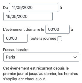 Lpo Sarthe 10 Plugin Gestion Evenements