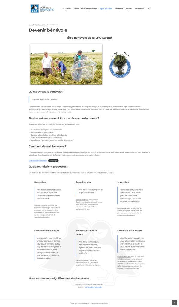 Lpo Sarthe 6 Formation Redaction De Contenu Web