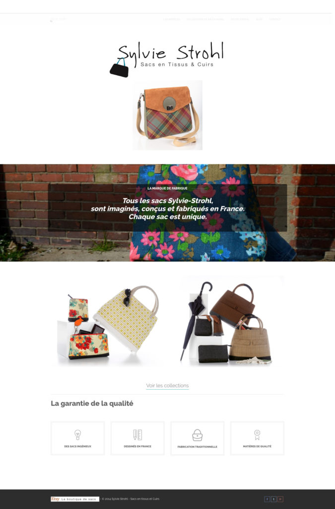 Sacs Sylvie Strohl 1 Site Catalogue Creatrice De Mode