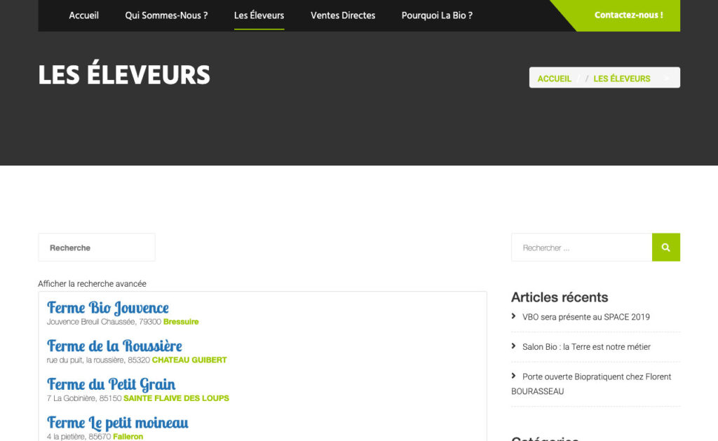 Volailles Bio De Louest 2 Site Web Vente A La Ferme