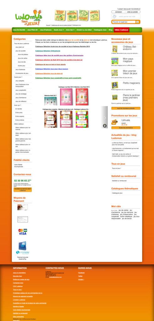 Ludomus 4 Site Internet Boutique En Ligne