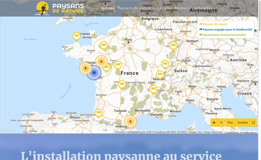 Paysans De Nature 1 Site Internet Association
