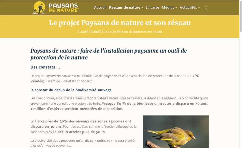 Paysans De Nature 2 Site Web Reseau Paysan