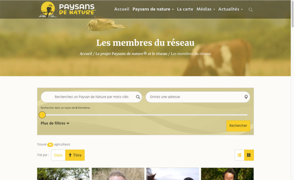 Paysans De Nature 4 Formation Web
