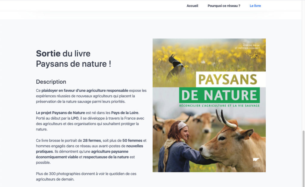 Paysans De Nature Minisite 3 Teasing Association