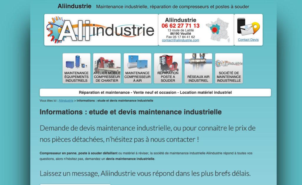 Aliindustrie 3 Creation Site Tpe Pme
