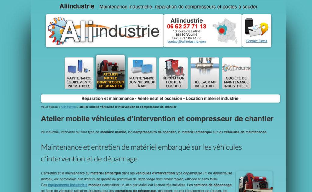Aliindustrie 4 Site Web Seo