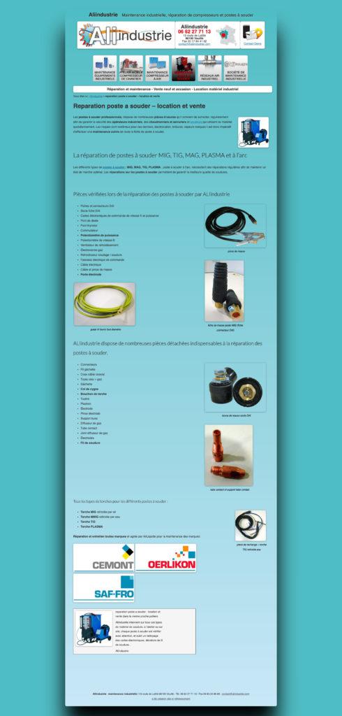 Aliindustrie 8 Page Catalogue Pieces Detachees