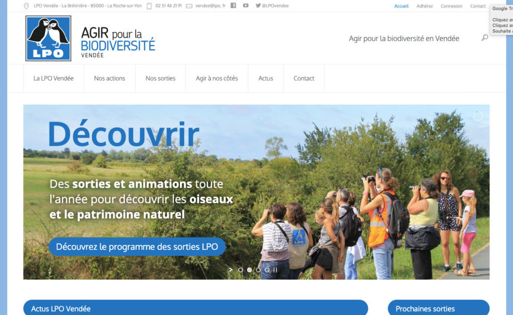 Lpo Vendee 1 Creation Site Internet 85